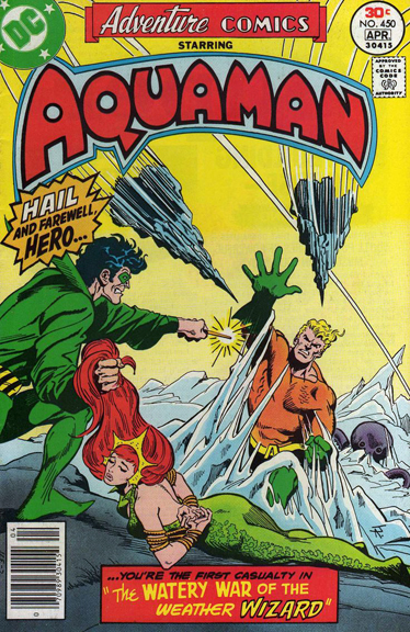 Adventure Comics With Aquaman! Jim Aparo
