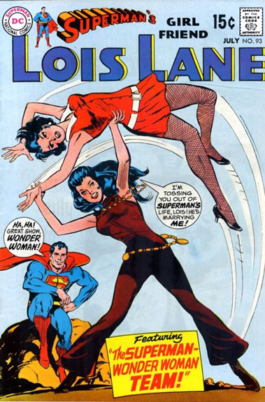 Lois Lane Comic Books-The Crazy Train.