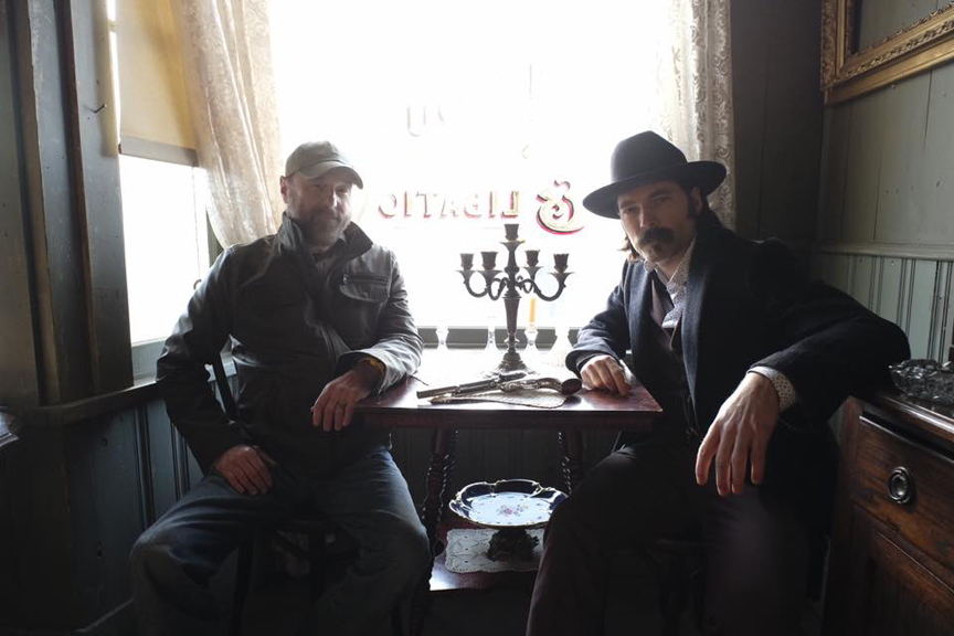 Beau Smith & Tim Rozon, Your Hosts This Week.