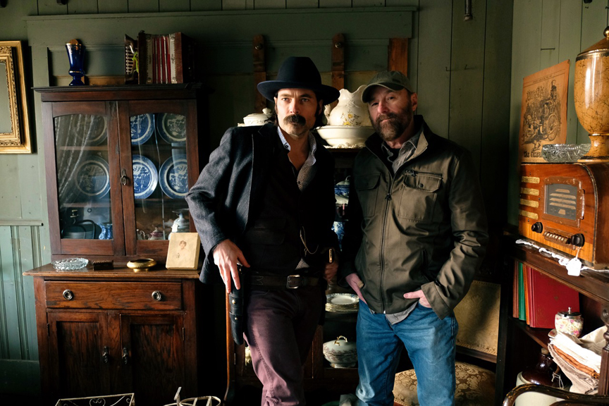Tim Rozon and Beau Smith, Actors, Writers, and Dangerous Men.
