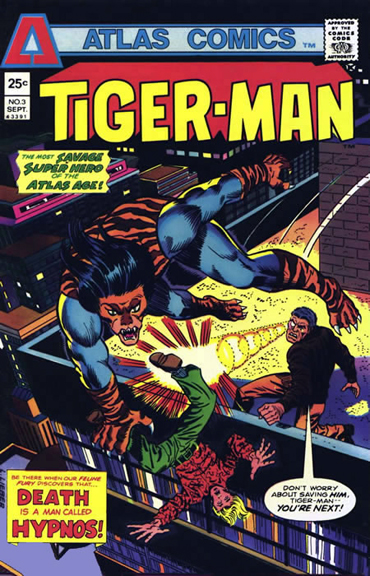 Tiger-Man Atlas Comics