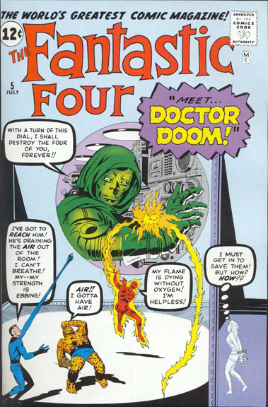 Fantastic Four #5. I Bought It For A Dime!