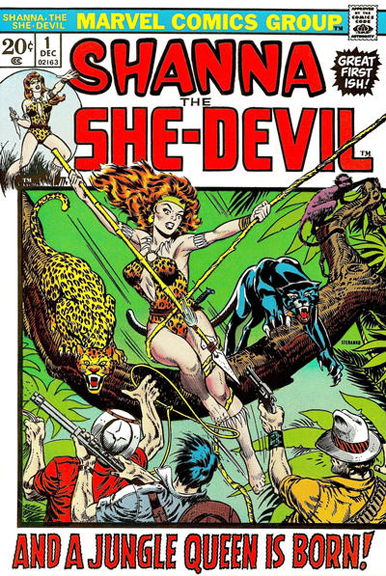 Shanna, the She-Devil #1