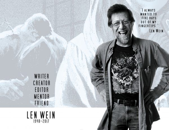 DC's tribute to Len Wein