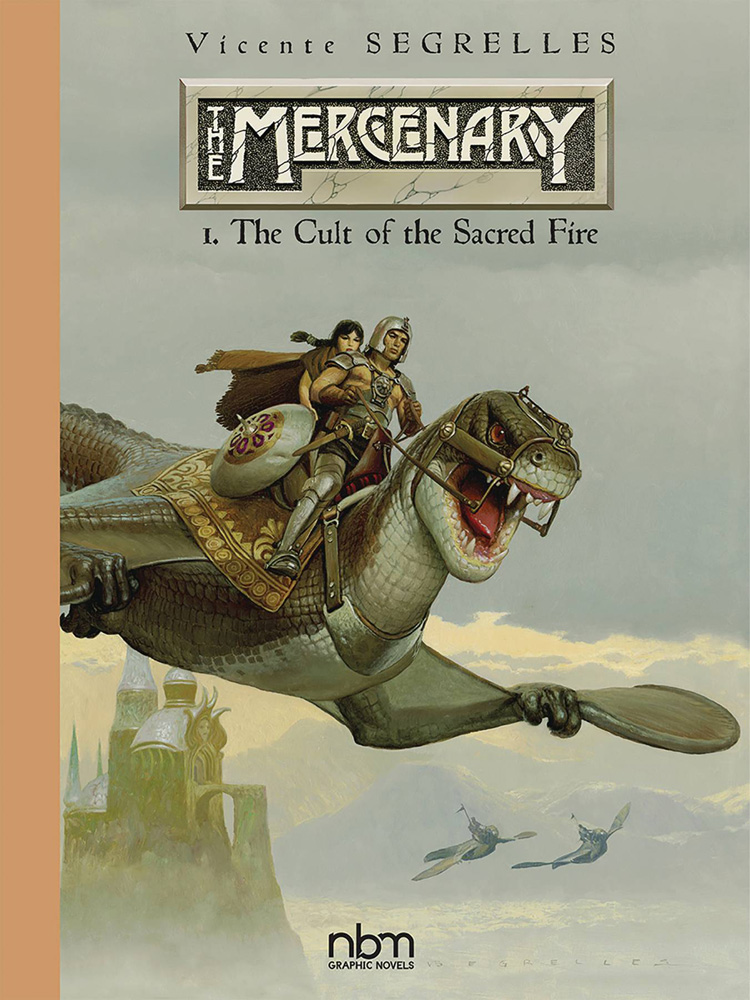 Mercenary Vol. 1: The Cult of the Sacred Fire