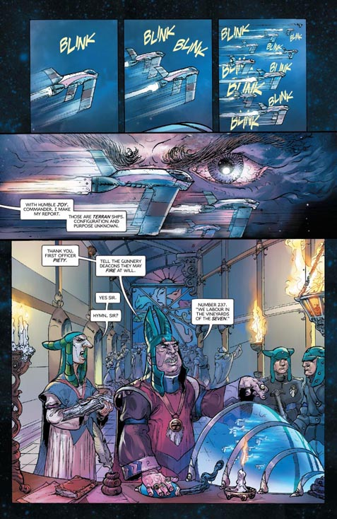 Barbarella #1 preview page 1