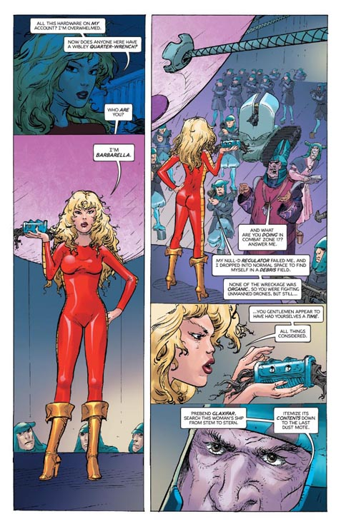 Barbarella #1 preview page 4