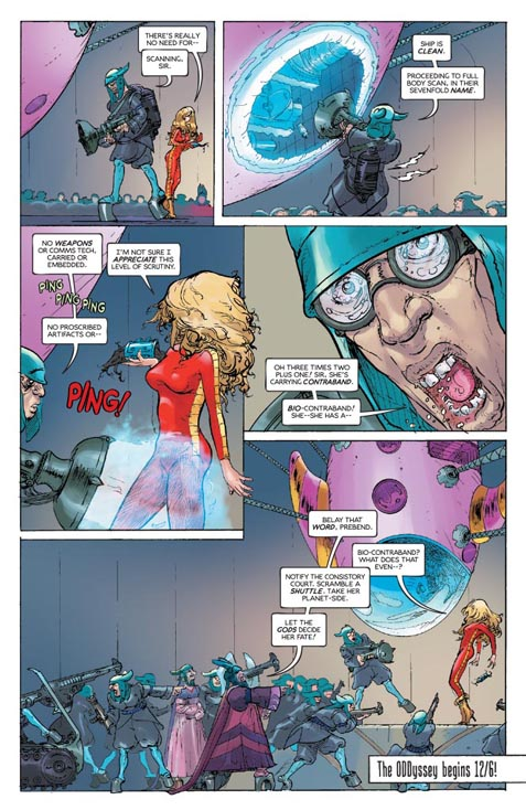 Barbarella #1 preview page 5
