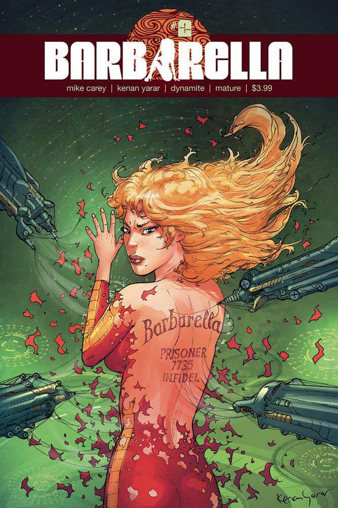 Barbarella #2 Kenan Yarar cover