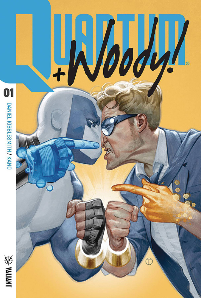 Quantum & Woody #1 Julian Totino Tedesco cover