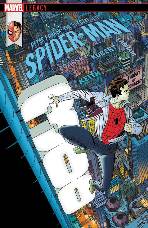 Peter Parker: The Spectacular Spider-Man #300 Marcos Martin cover