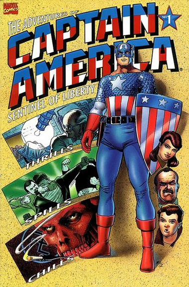 The Adventures of Captain America #1