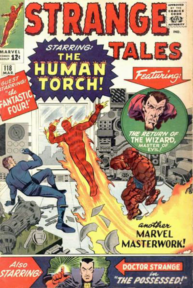 Strange Tales #118 Doctor Strange's first cover appearance