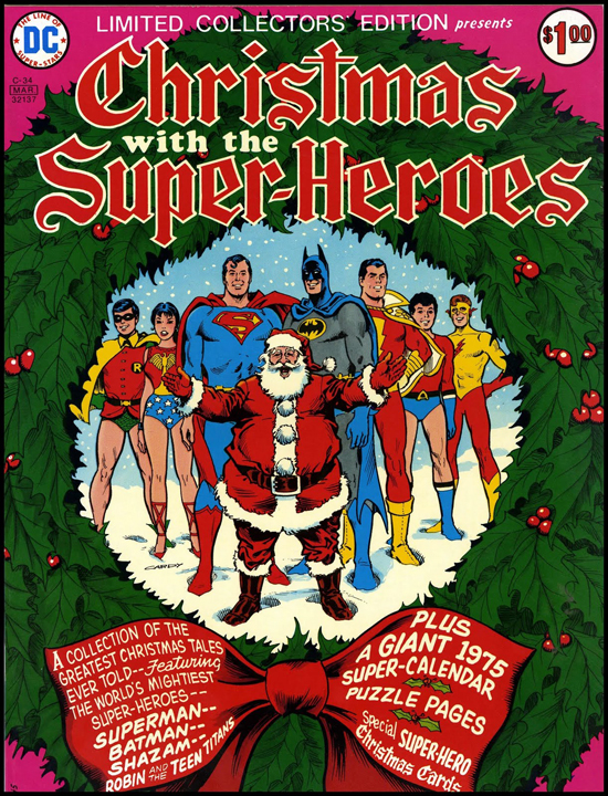 Christmas Comics.Westfield Comics Blog Dc Comics Christmas Holiday Specials