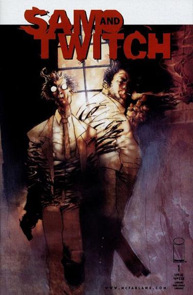 Sam & Twitch #1 cover by Ashley Wood