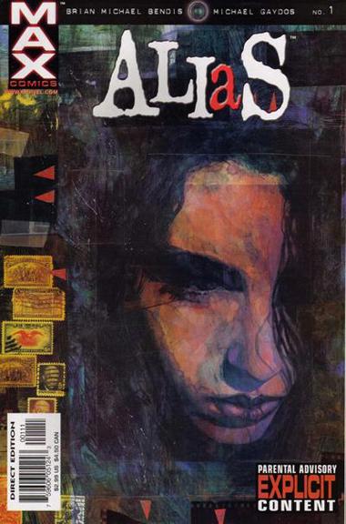 Alias #1 cover by David Mack