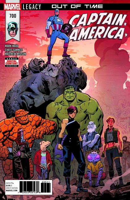 Captain America #700 Chris Samnee cover