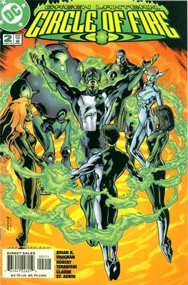 Green Lantern: Circle of Fire #2