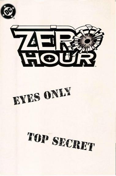 The Zero Hour ashcan