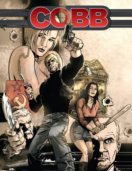 Cobb: Off The Leash. Being Developed For Television. Art by Eduardo Baretto