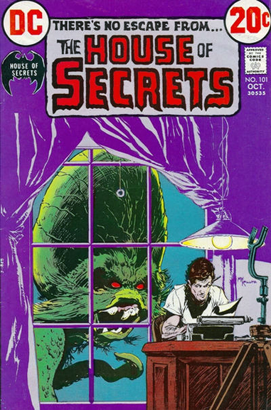 House of Secrets #101 cover by Mike Kaluta