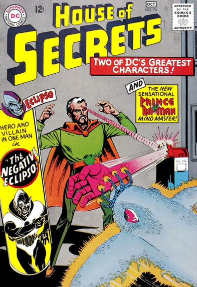House of Secrets #74 - Prince Ra-Man's first cover appearance