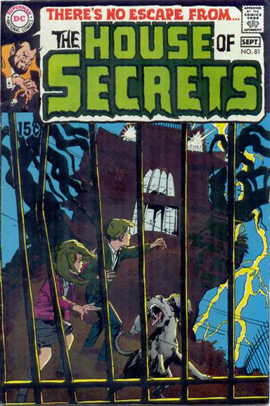 House of Secrets #81 cover by Neal Adams
