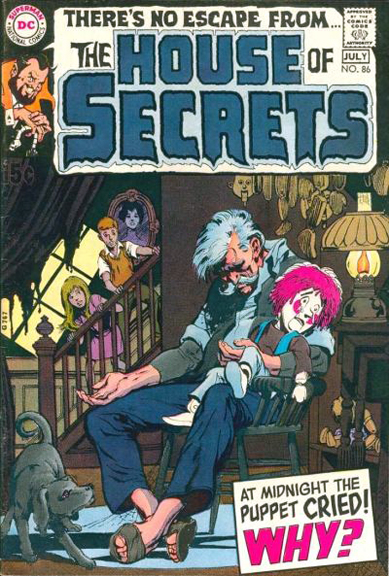 House of Secrets #86 cover by Neal Adams