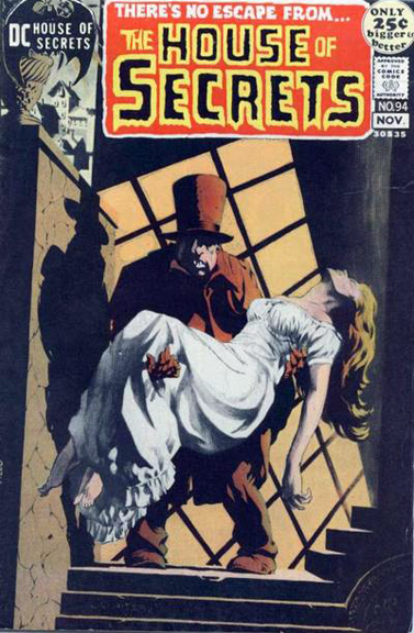 House of Secrets #94 cover by Bernie Wrightson
