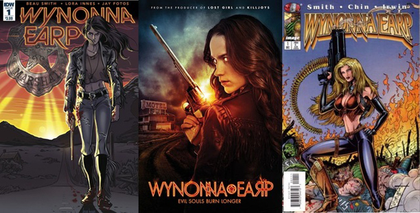 My Girl, Wynonna Earp. Art by Lora Innes, Melanie Scrofano, and Joyce Chin with Jim Lee