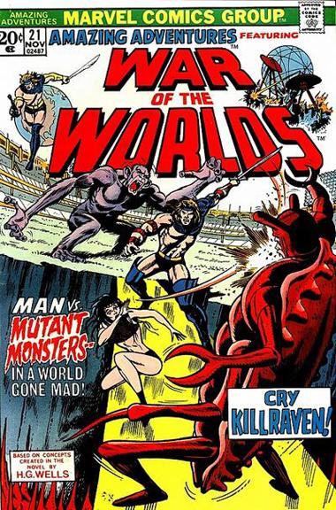 Amazing Adventures #21, the first McGregor/Trimpe issue