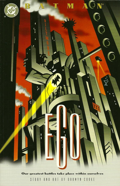 Batman: Ego, Cooke's first major work for DC