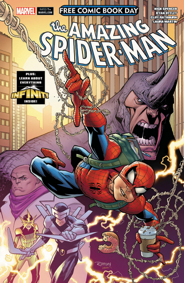 Amazing Spider-Man/Guardians of the Galaxy FCBD issue