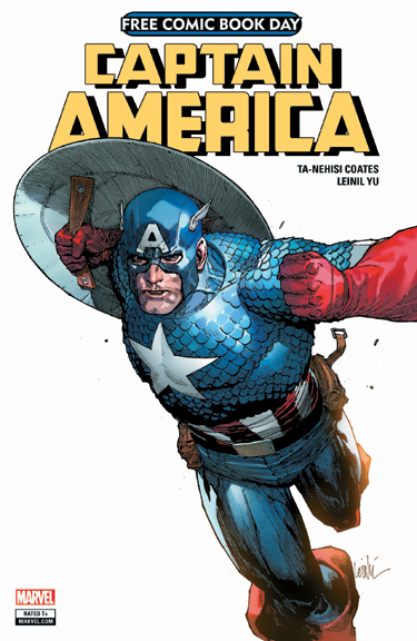 Avengers/Captain America Free Comic Book Day