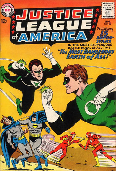 Justice League of America #30, the JLA and JSA take on the Crime Syndicate