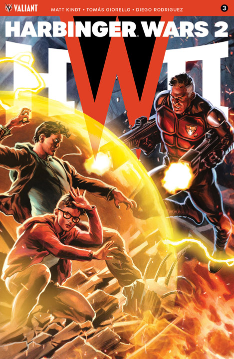 Harbinger Wars 2 #3 HW2 Icon Variant cover by Felipe Massafera
