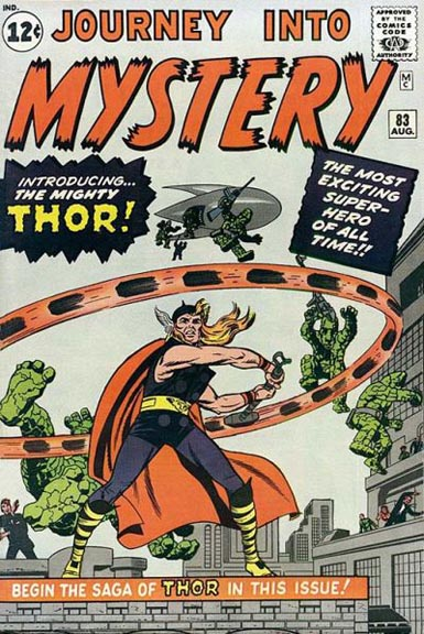 Thor's first appearance from Journey Into Mystery #83