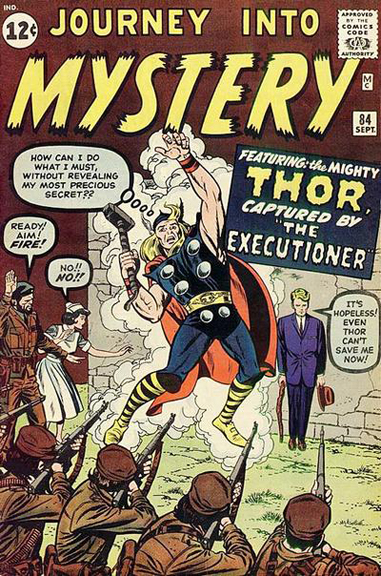 Journey Into Mystery #84, the first appearance of Jane Foster