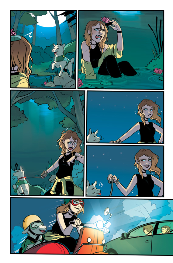 Nancy Drew #1 preview page 4