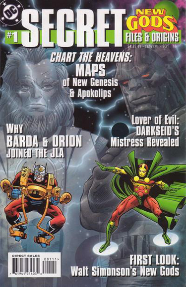 New Gods Secret Files #1