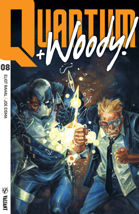 Quantum and Woody #8 Cover A by Tom Fowler