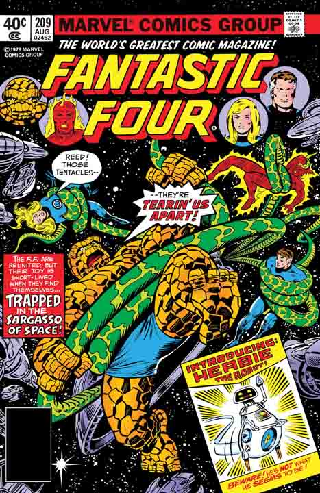 True Believers: Fantastic Four: The Coming Of H.E.R.B.I.E. #1