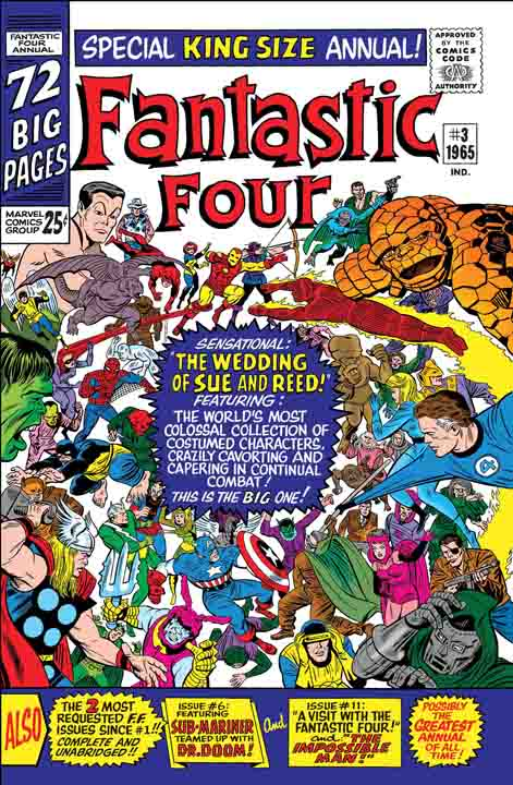 True Believers: Fantastic Four: The Wedding Of Reed And Sue #1