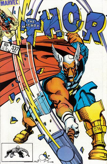Walter Simonson's classic cover to Thor #337