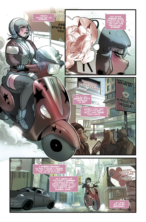Unnatural #1 preview page 3