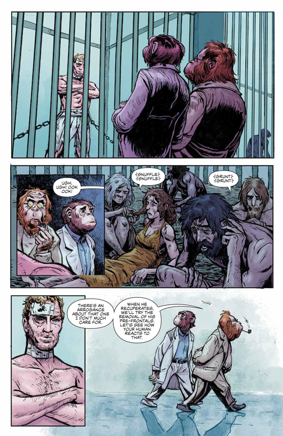 Planet of the Apes: Visionaries preview page 3