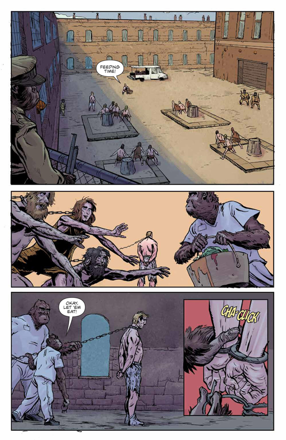 Planet of the Apes: Visionaries preview page 4