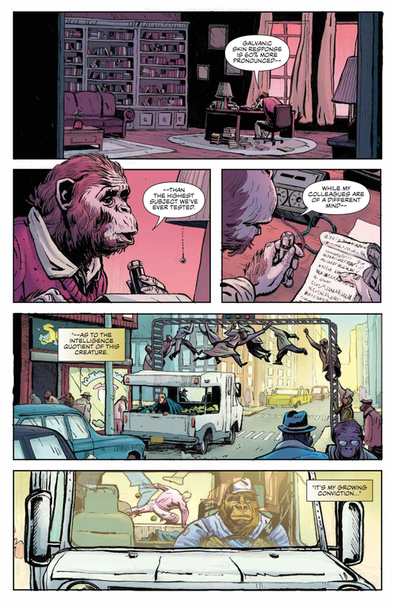 Planet of the Apes: Visionaries preview page 9
