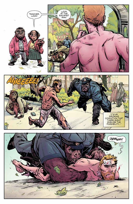 Planet of the Apes: Visionaries preview page 10