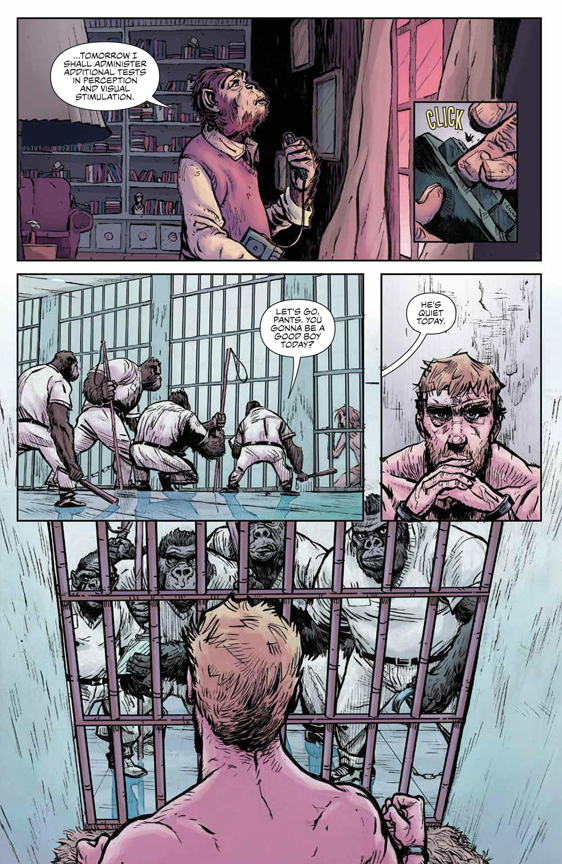 Planet of the Apes: Visionaries preview page 14